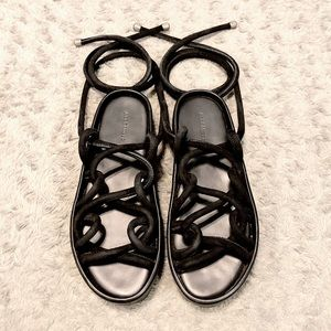 Women's All Saints sandals paid $325 s.37 like new